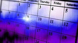 Calendar Widget Header Image